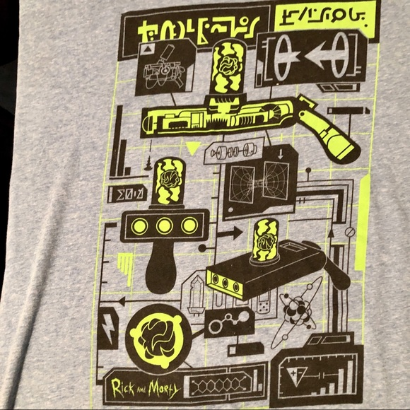 Loot Crate Other - Loot Crate Rick & Morty graphic tee 2XL